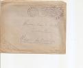 """Marcophilie Lettre 6e Bataillon De Chasseurs Alpins Cachet 1942 Grenoble Fm Franchise Militaire """" Français Engagez Vous - Marcophilie (Lettres)"""