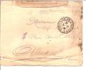 Marcophilie Lettre Vignette Postes Et Télégraphes Griffe Controle Militaire Fm  Guerre 1916 Pour Albertville -73 Savoie - Marcophilie (Lettres)