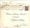 Marcophilie Lettre  Bone Constantine Algérie 1950  , 15f , Par Avion Pour St Geoire En Valdaine ( 38-isère)