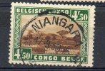 CONGO _  NIANGARA _ KEACH Type 8A1 _ OBL CANCEL - TT6 - Belgisch-Kongo