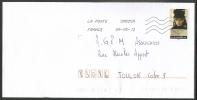 Timbre Autocollant De Carnet ____ PORTRAIT DE FEMMES . - Marcophilie (Lettres)