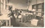 1907 : MONTIGNY EN  OSTREVENT  SANATORIUM  FAMILIAL : LINGERIE , LE REPASSAGE DU  LINGE  Animee - France