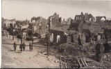 Carte Photo  Militaire Allemand - MESSINES-MESEN  (Belgique-Flandre) - Ville En Ruine - Feldpost - - Messines - Mesen