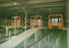 BRUXELLES. (métro) - Fosses D'entretien Rames Metro, Auderghem.  -  BRUSSEL (metro) - Onderhoudsputten Metrostellen, Oud - Transport Urbain Souterrain