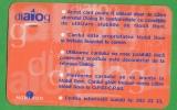 Romania. Dialog Club Card. GSM Club Card. - Andere Verzamelingen