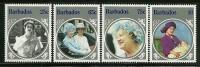"""Barbados        """"Queen Mother""""    Set     SC# 660-63  MNH** - Barbados (1966-...)"""
