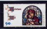 """CANADA, 1997, # 1671 , CHRISTMAS: MADONNA & CHILD """"no Gum"""" - Carnets"""