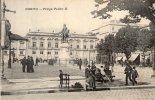 Cp , Portugal , PORTO , Praça PEDRO II , Dos Simple , Ed : Messageries Maritimes , Blason , Vierge - Porto