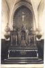 27 INFREVILLE 1910 ?? INTERIEUR EGLISE PHOTO CARTE  TBE - France