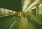 """BRUXELLES (métro) - L1 - """"De Brouckère"""" -  BRUSSEL (metro) - L1 - """"De Brouckere"""". - Vervoer (ondergronds)"""
