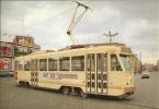 BRUXELLES - Voiture De Tramway P.C.C. - Série 7000.  -  BRUSSEL - P.C.C.-tramrijtuig - Reeks 7000. - Vervoer (openbaar)