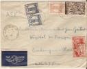 Lettre Par Avion.Maroc Amizmiz A Bangui. Oubangui-Chari. - Marokko (1956-...)