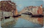Chip Card From Croatia Impresija Emanuel Vidovic Painting Bridge - Kroatien