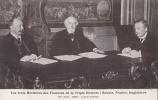 POLITIQUE REUNION DE MINISTRES RUSSIE FRANCE ( RIBOT ) ANGLETERRE  POLITICIENS - Persönlichkeiten
