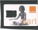ORANGE Guadeloupe . Carte Mibile GSM Sans Puce . - Phonecards