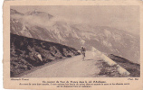 20703 COUREUR DU TOUR DE FRANCE  COL AUBISQUE- ALMANACH VERMOt, Photo Rol ! état - Cycling