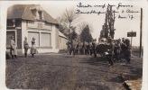CP Photo Novembre 1917 - Une Parade Allemande Dans L´aisne, Vers, Laon, Gercy, Pinon? Le Kaiser? (ww1, Wk1) - Guerra 1914-18
