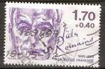 FR 2356a Ecrivains  Personnages  Jules Romain 1985  (dentelés 15x15.5) Valeur 3.€ - France