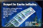 SCOPRI LA CARTA INFINITA LIRE 10.000 MANTEGAZZA VALIDITA' 30.06.93 USATA - Italia