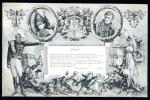 CPA. ILLUSTRATION Signée J. Noailly 1909, Sur Le Maréchal CASTELLANE, Texte à CALUIRE 10.10.1909 De V. DE CHANTEREL. - Patriotiques