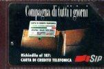 COMPAGNA DI TUTTI I GIORNI LIRE10.000 TECHNICARD VALIDITA´ 31.12.95 USATA - Italia