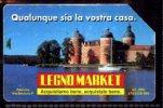 LEGNO MARKET LIRE 5.000 TECHNICARD VALIDITA' 31.12.95 USATA - Italia