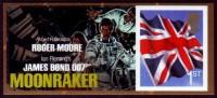 Großbritannien 2012 - James Bond - Moonraker - Selbstklebend - Adhesive Stamps - 1952-.... (Elisabetta II)