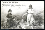 CPA. GUERRE 1914-1918. ILLUSTRATION Militaire Satirique RETOUR DE FRANCE.  TRAITE. - Patriotic