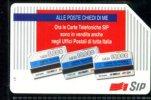 ALLE POSTE CHIEDI DI ME LIRE10.000 TECHNICARD VALIDITA´ 31.12.95 USATA - Italia