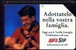 ADOTTATELO NELLA VOSTRA FAMIGLIA  LIRE 5.000 MANTEGAZZA VALIDITA´ 30.06.96 USATA - Italia