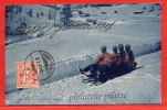 SUISSE DAVOS BOBSLEIGH 1907 - GR Grisons