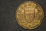 Monnaie, Ile De La Reunion , 20 Francs Reunion 1955 - Réunion