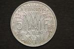 Monnaie, Ile De La Reunion, 5 Francs Reunion 1955 - Réunion
