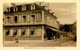 N°20337 -cpa Pont D'Ouilly -Hôtel De La Poste- - Hotels & Restaurants