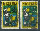 VEND TIMBRES DU NIGERIA N° 293 (B) X 2 NUANCES DIFFERENTES !!!! (b) - Nigeria (1961-...)