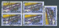 VEND TIMBRES DU NIGERIA N° 292 (B) X 5 NUANCES DIFFERENTES !!!! - Nigeria (1961-...)
