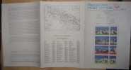 PAKISTAN 1981 MNH VERY RARE BROCHURE LEAFLET MOUNTAIN PEAKS OF PAKISTAN SERIES,KARAKORAM,MOUNTAINS