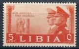 1941 LIBIA FRATELLANZA D'ARMI 5 CENT MNH ** - RR10561 - Libia