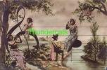 CPA PHOTO MONTAGE ** SURREALISME ** FEMMES ET ENFANTS NOTE DE MUSIQUE - Photographie