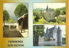 03 -  Le Lavoir Et Le Chateau De Ferrières Sur Sichon ; Le Chateau De Chappes(Lae) - Zonder Classificatie