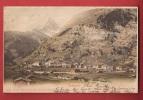 P878 Zermatt, Matterhorn,vue Générale. Précurseur. Cachet 1901 - VS Valais