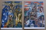 SMOM 2000 - 5  OFFICIAL POSTCARDS ANNO SANTO, GINO SEVERINI PEINTER , VIA CRUCIS NEW - Cartoline