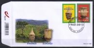 Belgie  2012  FDC 1737   Onafhankelijkheid  Burundi - Rwanda .  //0   éé - 2011-...