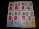 Lot 6 Sheet Christmas Island 12 Days Set Mint NH - Unclassified
