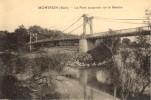 CPA - Montfrin - Le Pont Suspendu Sur Le Gardon - France