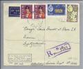 OZEANIEN Fiji 1962-12-14  BA R Airmailbrief Nach Bern Mit Mi#163,162, 156, 156 - Fidji (1970-...)