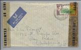 AMERIKA Jamaica 1943-09-0? Zensurbrief Nach San Pedro USA - Jamaique (1962-...)