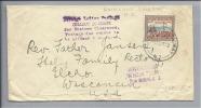 OZEANIEN Neuseeland Auckland Railwaybrief Nach Wisconsin USA 1940-11-1? - Nouvelle-Zélande