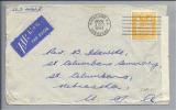 OZEANIEN Neuseeland 1944-10-02 Zensurairmail-Brief Nach Nebraska USA - Nouvelle-Zélande