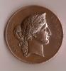 Médaille/Ministére Agriculture Et Commerce/Mention Honorable/Paris/1876     D44 - Francia